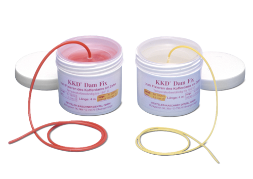 KKD® DamFix - Ø 1,5 mm gelb small
