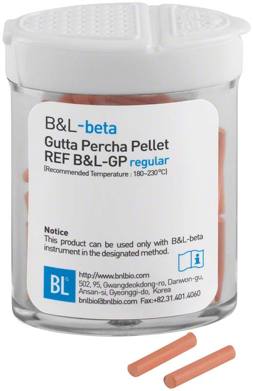B&L SUPERENDO BETA GUTTA PERCHA PELLETS HARD (100st)